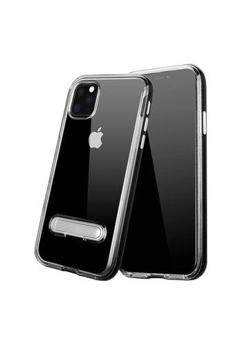 Colorfone Ständer iPhone 11 Pro (5.8) Transparent Schwarz