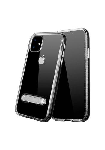 Colorfone Ständer iPhone 11 (6.1) Transparent Schwarz