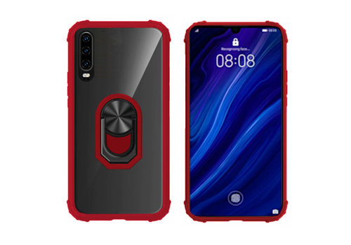 Colorfone Ring P30 Transparant Rood