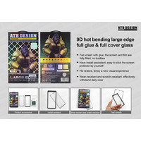 9D ARC Tempered Glass Samsung Note 10 Plus