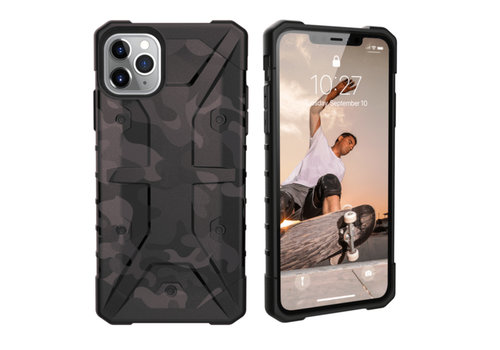 Colorfone Shockproof Army iPhone 11 Pro Max (6.5) Zwart