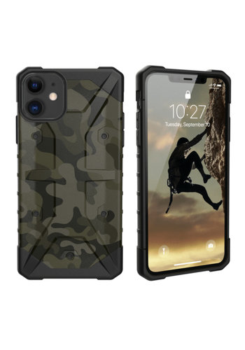 Colorfone Shockproof Army iPhone 11 (6.1) Zielony
