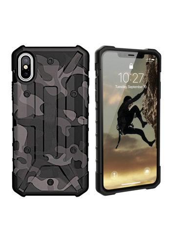 Colorfone Wstrząsoodporny Army iPhone Xs Max Czarny