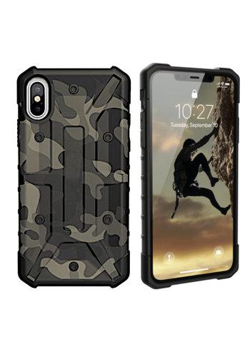 Colorfone Wstrząsoodporny Army iPhone Xs Max Zielony