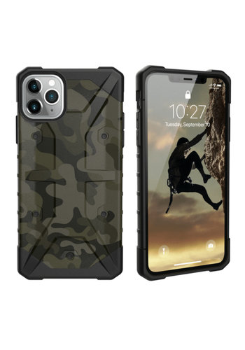 Colorfone Shockproof Army iPhone 11 Pro (5.8) Groen