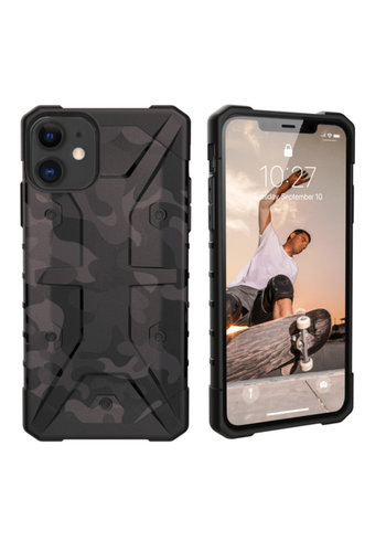 Colorfone Shockproof Army iPhone 11 (6.1) Zwart