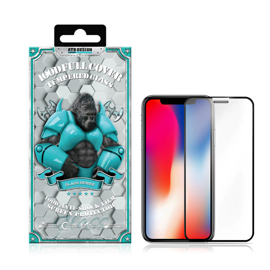 Screen Protector 100D Tempered Glass iPhone 11 Pro/X/XS