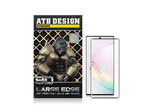 ATB Design 9D ARC gehärtetes Glas Samsung Note 10