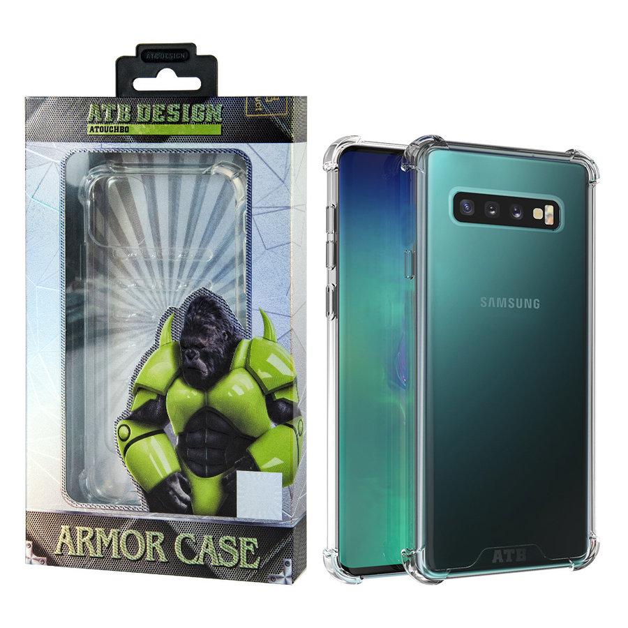 Etui Anti Shock Case TPU + PC Samsung S10 Plus