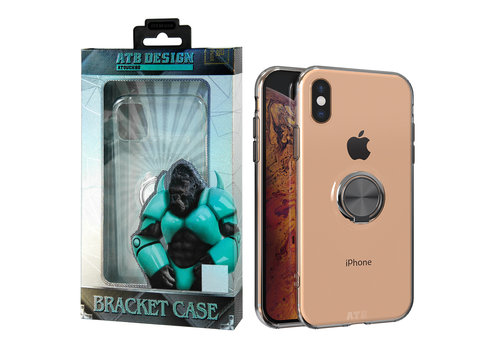 ATB Design Ring Houder TPU iPhone Xs Max