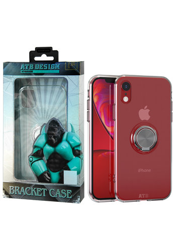 ATB Design Ring Houder TPU iPhone Xr