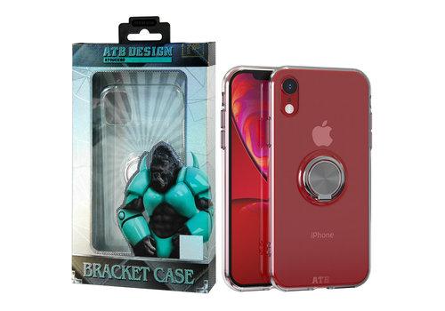 ATB Design Ring Houder TPU iPhone Xr
