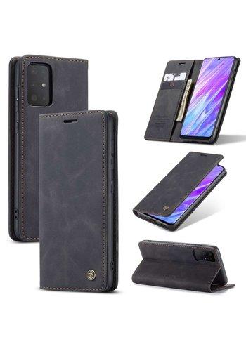 CaseMe Retro Wallet Slim für S20 Ultra Schwarz