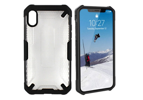 Colorfone Shield iPhone Xr Transparant