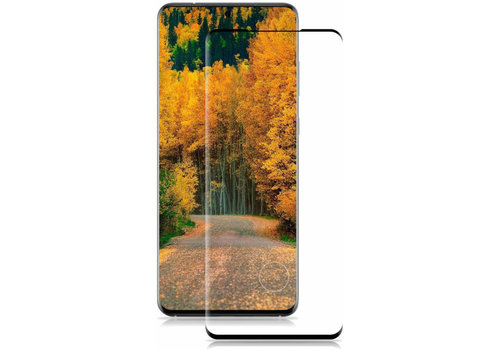 Colorfone Glass Curved S20 Ultra Transparant Zwart