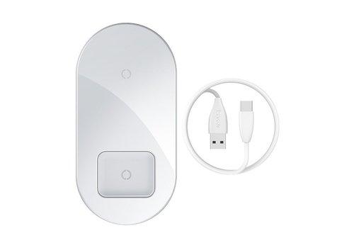 Baseus Drahtloses Ladegerät 15W Telefon + Airpod