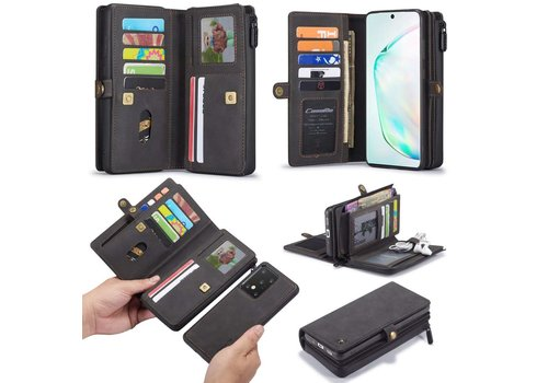 CaseMe Multi Wallet voor S20 Ultra Zwart