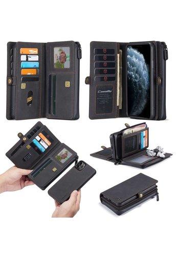 CaseMe Multi Wallet für iPhone 11 Pro Max Schwarz