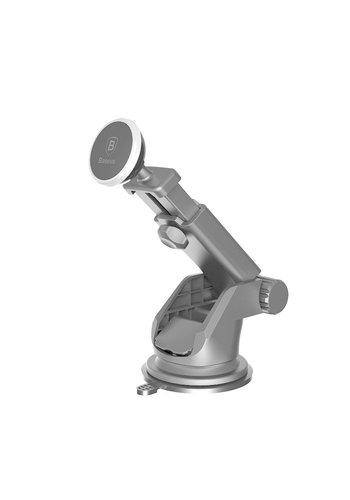 Baseus Autohouder Telescoop Magneet Universeel Zilver