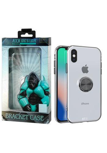 ATB Design Uchwyt pierścieniowy TPU iPhone SE 2020/7/8
