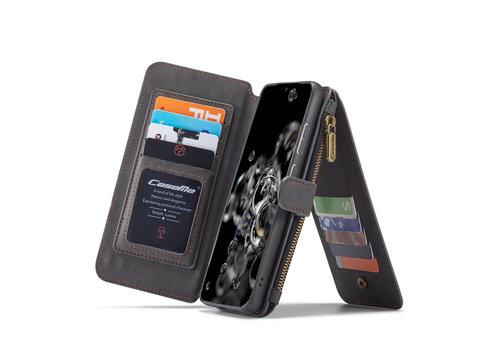 CaseMe 2 in 1 Zipper Wallet für S20 Ultra Schwarz
