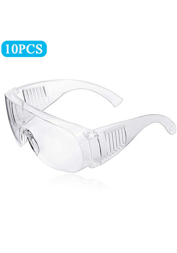 Outlook Safety glasses Transparent Universal 10 pieces