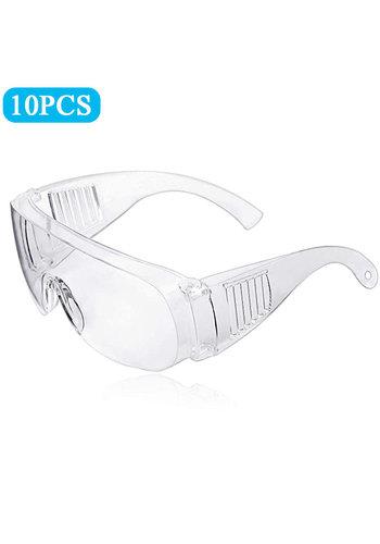 Outlook Schutzbrille Transparent Universal 10 Stück
