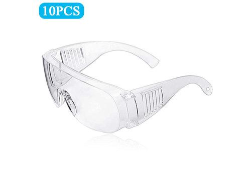 Outlook Veiligheidsbril Transparant Universeel 10 stuks