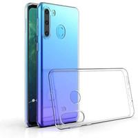 Pokrowiec Coolskin3T do telefonu Samsung A21 Transparent White