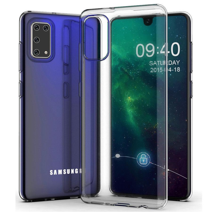 Pokrowiec Coolskin3T do telefonu Samsung A41 Transparent White