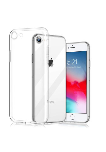 Colorfone CoolSkin3T iPhone SE 2020 Tr. Wit