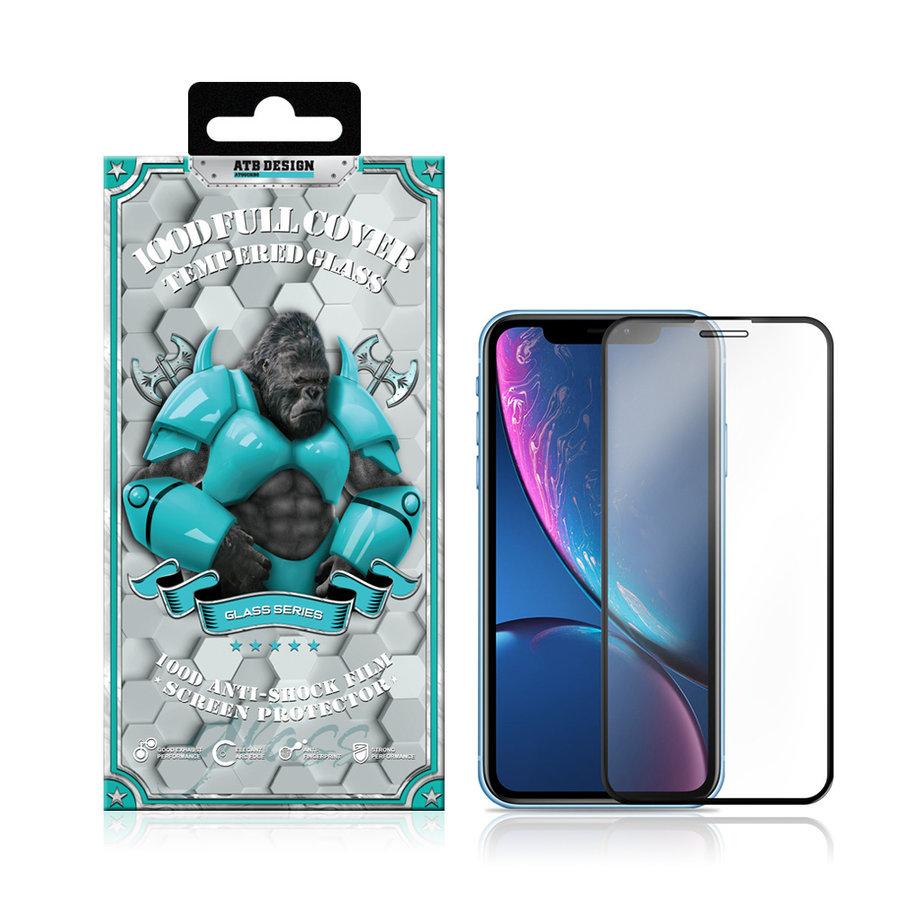 Displayschutzfolie 100D Gehärtetes Glas iPhone SE 2020
