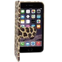 Hoesje Book1 voor Apple iPhone 6 Luipaard