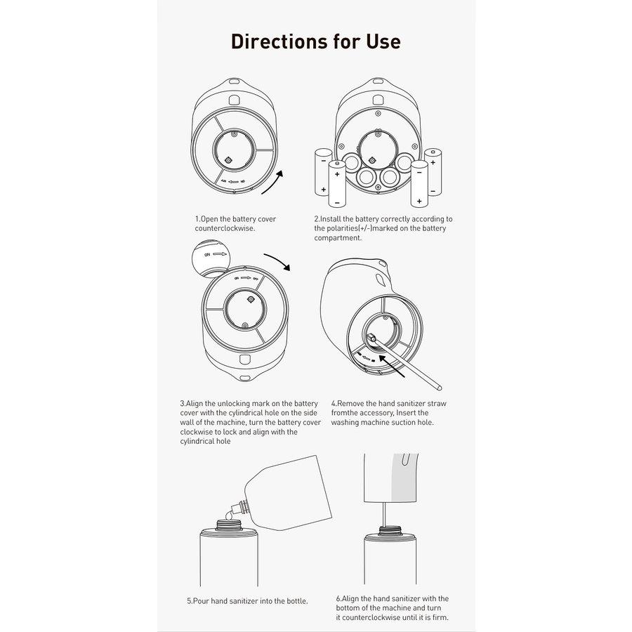 Automatischer Seifenspender Kontaktlos