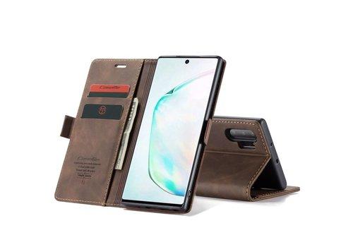 CaseMe Retro Wallet Slim voor Note 20 Ultra Bruin