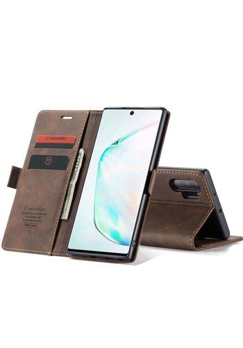 CaseMe Retro Wallet Slim voor Note 20 Bruin