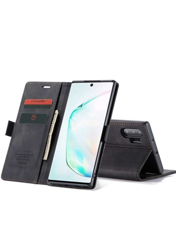 CaseMe Portfel Retro Slim do Note 20 Czarny