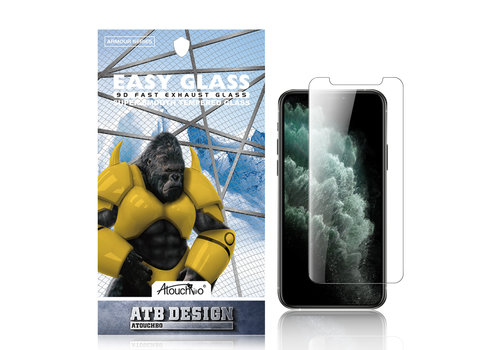 ATB Design 2,5D gehärtetes Glas iPhone XS Max / 11 Pro max