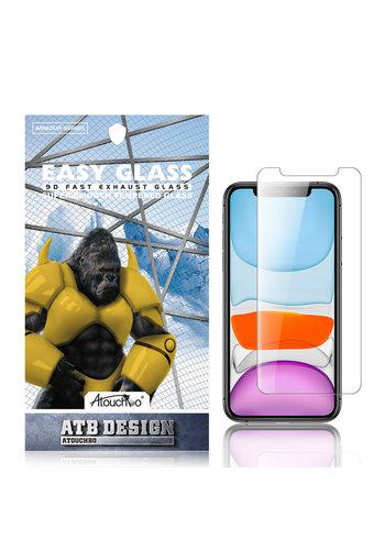 ATB Design 2.5D iPhone XR / 11 aus gehärtetem Glas