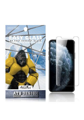 ATB Design 2.5D gehärtetes Glas iPhone X / XS / 11 Pro