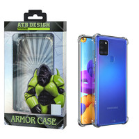 Etui Anti Shock Case TPU + PC Samsung A21
