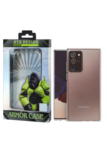 ATB Design HoneyComb Hoesje TPU Samsung Note 20 Ultra