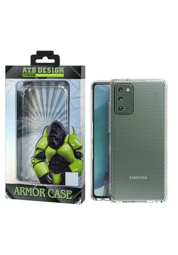 ATB Design Etui z TPU HoneyComb do telefonu Samsung Note 20