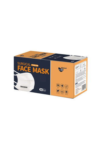 Inherent Maski na twarz IIR z paskiem 50 szt