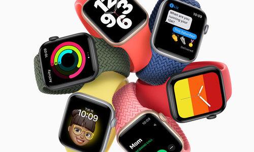 Apple Watch Series 6 en SE