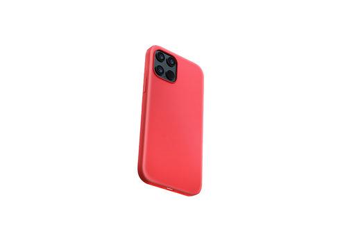 Devia Liquid Silicone iPhone 12 Mini (5.4'') Rood
