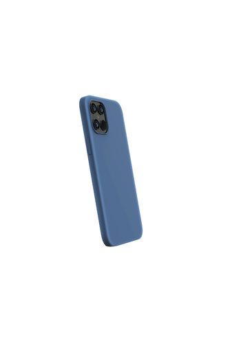 Devia Flüssiges Silikon iPhone 12 Mini (5,4 '') Blau