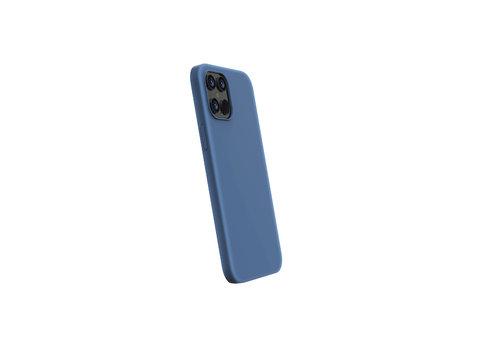 Devia Liquid Silicone iPhone 12 Mini (5.4'') Blauw