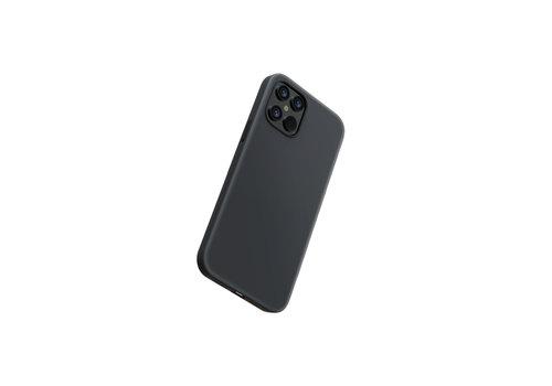 Devia Flüssiges Silikon iPhone 12 Pro Max (6,7 '') Schwarz