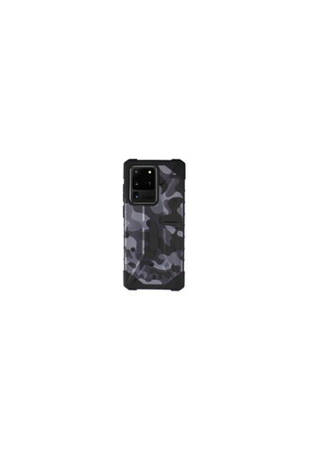 Colorfone Shockproof Army S20 Ultra Zwart